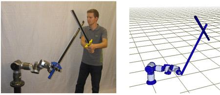 Robot wielding Sword